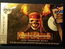 Disney Pirates of the Caribbean DVD Treasure Hunt Board Game 100% COMPLETE