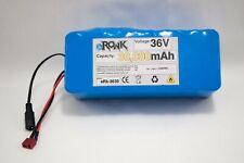36V 30Ah 30000 mAh LiPo battery pack w/ BMS charger 500W 750W ebike motor e bike