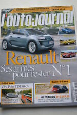 AUTO JOURNAL 788 GOLF VII C3 PUNTO X1 POLO MITO 5008 SCENIC MEGANE MAZDA3 2009