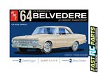 AMT 1/25 1964 Plymouth Belvedere w/ Straight 6 Engine Plastic Model  AMT1188M