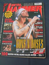 Metal Hammer 4/2005 GUNS N' ROSES QUEENS OF THE STONE AGE APOCALYPTICA MEGADETH