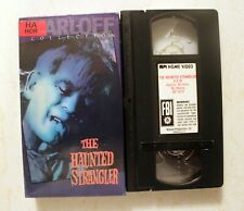 VHS: The Haunted Strangler: Boris Karloff Collection MPI