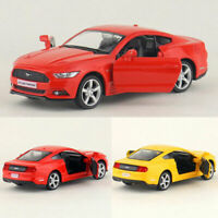 1:36 Ford Mustang 2015 Die Cast Modellauto Spielzeug Model Sammlung Pull Back