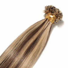 100G Thick Fusion Pre bonded U/Nail Keratin Tip Remy Human Hair Extensions USF33