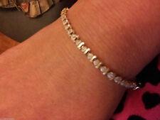 18 Carat Yellow Gold Fine Diamond Bracelets