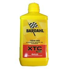 BARDAHL Moto XTC C60 15W50 Lubrificanti Olio Motore Moto 4 Tempi 1 LT FULLERENE