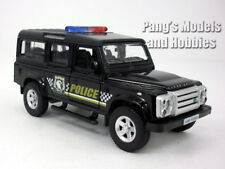 5 inch Land Rover Defender Police Patrol Station Wagon Scale Diecast Model