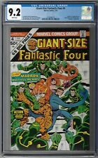 CGC 9.2 GIANT SIZE FANTASTIC FOUR #4 1ST APPEARANCE OF JAMIE MADROX MULTIPLE MAN