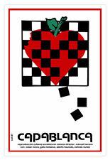Cuban movie Poster.CAPABLANCA.Chess player.Game Master.Ajedrez Master