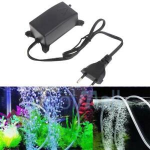 Aquarium Air Pump Fish Tank Mini Air Compressor Oxygen Aquarium M7T1 L0C0 W6X0