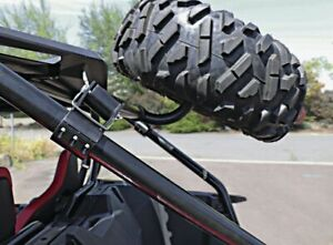 Modquad Rigid Spare Tire Mount For Can-Am Maverick X3 900 HO 2017-2021 Black