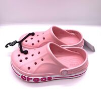 Crocs Bayaband Clog K For Kids In Pink Brand new Choose Your Size