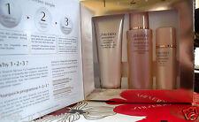 Shiseido WrinkleResist24 1-2-3 Travel/Starter Kit Cleanser Softener Day Emulsion