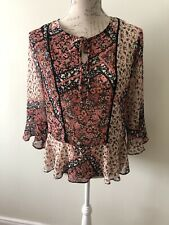 Ladies Lightweight Summer Top Size 12