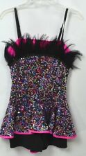 Costume Gallery dance jazz hip hop Dancer Halloween feather Adult 14627 M L NEW