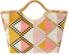 Monsoon Accessorize Samta Handheld Multi Coloured Bag Beach Shopping Bnwt
