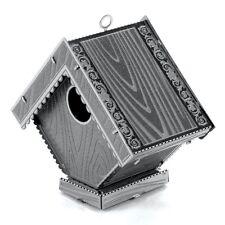 Fascinations Metal Earth 3D Laser Cut Steel Puzzle Model Kit Bird House MMS039