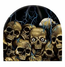 Uprooted Skulls Beanie Hat Skull Cap Head Wear Sublimation Colors Capsmith