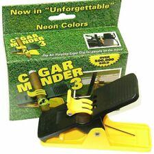 Cigar Minder Cigar Clip (Neon Yellow) All-Purpose Cigar Holder New