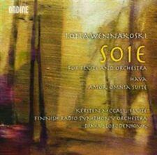 "LOTTA WENN""KOSKI: SOIE, FOR FLUTE AND ORCHESTRA; HAVA; AMOR OMNIA SUITE NEW CD"