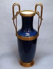 Sevres  Vase  Porzellan & Bronze  Louis XV   42 cm.