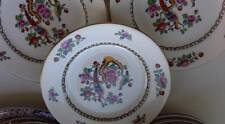Three Antique Charles Allerton & Sons Asiatic Birds 1930's Side Plates