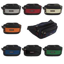 7 Fächer Bauchtasche Stylische Gürteltasche Hüfttasche Angeltasche Tasche