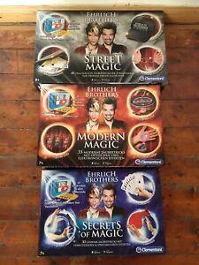 Ehrlich Brothers Magic Zauberkasten Street Magic Modern Magic Secrets Of Magic