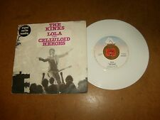 THE KINKS - LOLA - CELLULOID HEROES ( LIVE ) / LISTEN - COLORED WAX