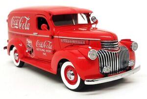 Danbury Mint 1/24 Scale 1941 Chevrolet Coca Cola Delivery Truck Diecast Model