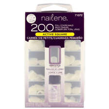 Nailene 200 Full Cover Nails Active Square 71072