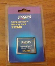 Jessops Compact Flash Camera Memory Card 512MB NEW Vintage