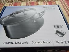 Le-Creuset 3-ply stainless steel 20cm 8inches 3 liters 3 1/5qt.