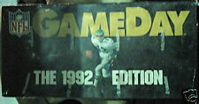 Game Day NFL football 1992 display pack