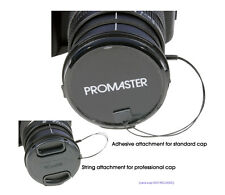 Promaster Universal Lens Cap Leash - Keeper Holder String #5079 Nikon Sony Canon