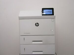 HP LaserJet Man M605xm M605 A4 Mono Printer WIRELESS XtraTray NO TONER, WARRANTY
