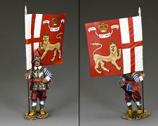 New listing King & Coun 00004000 Try Pike & Musket Pnm021 King'S Lifeguard Regiment Flag Bearer Mib