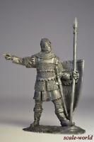 Tin soldier, figure. Byzantine infantryman, 13-14 century. 54 mm