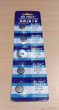 Confezione da 5 - 3 V LITIO CR1216 LR CR 1216 MONETA Cella Batteria
