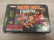 Boîte seule Donkey Kong Country Pour Super Nintendo SNES