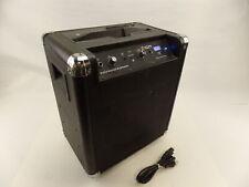 ION IPA56B Audio Block Rocker Black Bluetooth Portable Speaker System