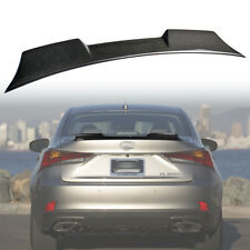 Real Carbon For LEXUS IS300 IS200t Sedan V High Style Rear Trunk Spoiler Wing