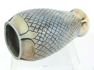 A Wonderful Martin Brothers Arts & Crafts Vase- Skin/ Scale Design.
