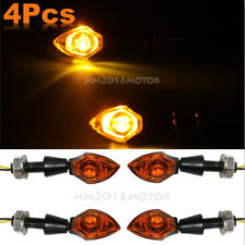 4x Motorcycle LED Turn Signals Blinkers For Yamaha YZF R1 R1S R6 R6S FZ1 FZ6 FZR