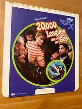 20,000 LEAGUES UNDER THE SEA WALT DISNEY CED Videodisc *Good condition*