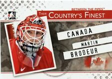 10/11 BETWEEN THE PIPES COUNTRYS FINEST #CF-01 MARTIN BRODEUR CANADA *43834