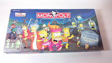 Simpsons Monopoly Treehouse of Horror Collectors Edition complete board game
