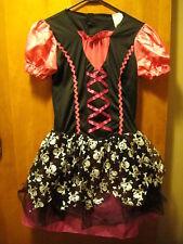 Wonderland Costumes Halloween ~ Youth Xl 14/16 ~ Skull Dancer Tutu