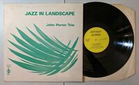 John Porter Trio - Jazz In Landscape LP 1972 Apollo Sound APP 5015 UK Jazz VG+
