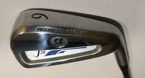 Bridgestone Golf J36 Premium Forged 6 Iron Regular Flex Prolaunch Graphite